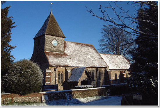St Thomas of Canterbury Church, East Clandon