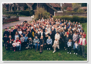 Photo of the Villagers - May 2000